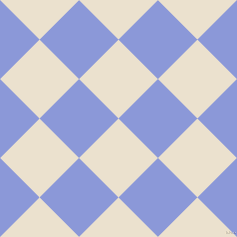 45/135 degree angle diagonal checkered chequered squares checker pattern checkers background, 188 pixel squares size, , Bleach White and Portage checkers chequered checkered squares seamless tileable