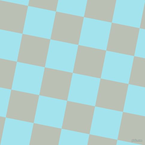 79/169 degree angle diagonal checkered chequered squares checker pattern checkers background, 95 pixel square size, , Blizzard Blue and Pumice checkers chequered checkered squares seamless tileable