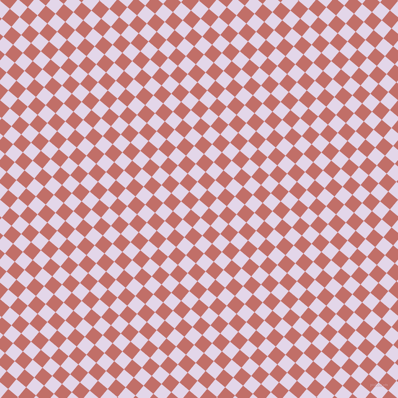 50/140 degree angle diagonal checkered chequered squares checker pattern checkers background, 25 pixel squares size, , Blue Chalk and Contessa checkers chequered checkered squares seamless tileable