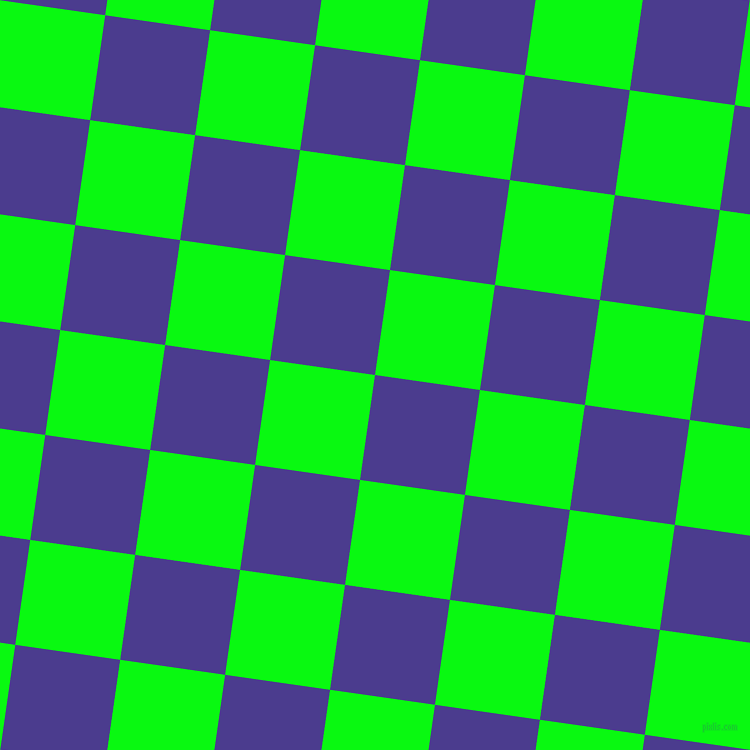 82/172 degree angle diagonal checkered chequered squares checker pattern checkers background, 106 pixel squares size, Blue Gem and Free Speech Green checkers chequered checkered squares seamless tileable