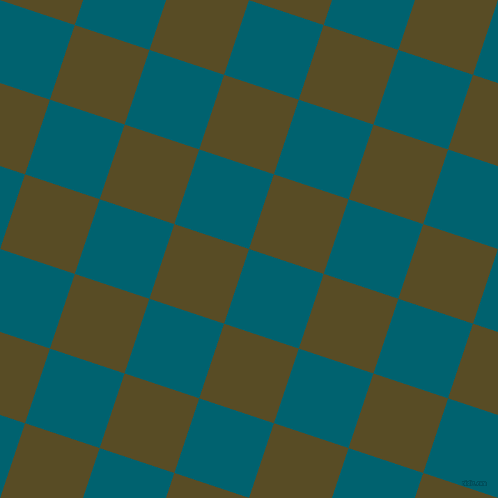 Blue Lagoon and Bronze Olive checkers chequered checkered