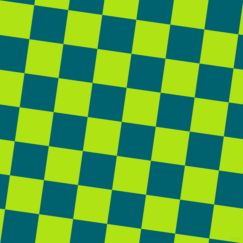 82/172 degree angle diagonal checkered chequered squares checker pattern checkers background, 115 pixel squares size, , Blue Lagoon and Inch Worm checkers chequered checkered squares seamless tileable