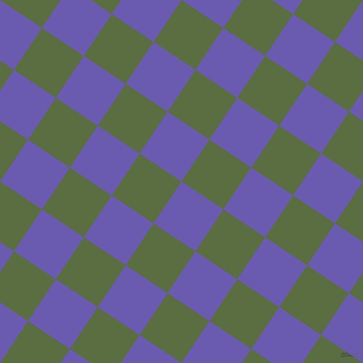 56/146 degree angle diagonal checkered chequered squares checker pattern checkers background, 103 pixel square size, , Blue Marguerite and Chalet Green checkers chequered checkered squares seamless tileable