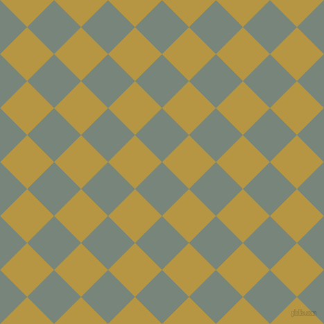 45/135 degree angle diagonal checkered chequered squares checker pattern checkers background, 55 pixel squares size, , Blue Smoke and Roti checkers chequered checkered squares seamless tileable