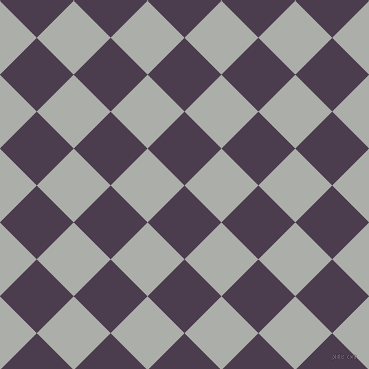 45/135 degree angle diagonal checkered chequered squares checker pattern checkers background, 76 pixel squares size, , Bossanova and Silver Chalice checkers chequered checkered squares seamless tileable