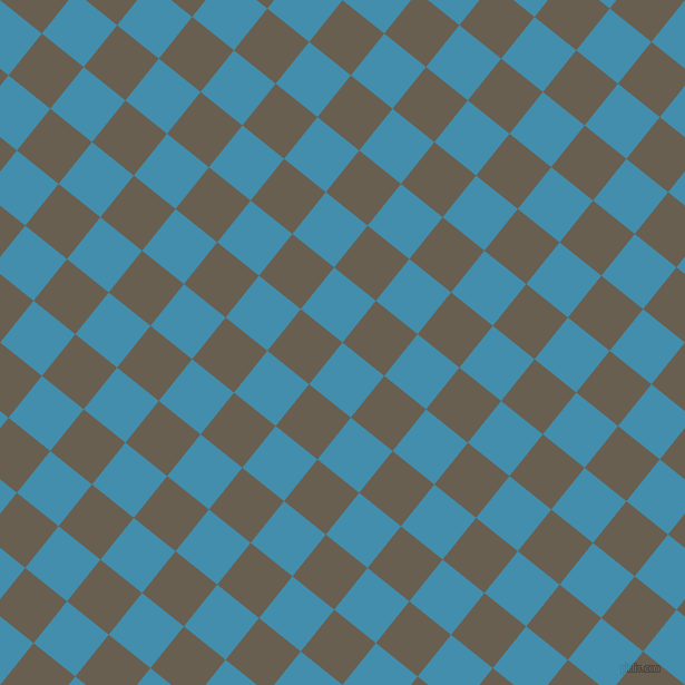 51/141 degree angle diagonal checkered chequered squares checker pattern checkers background, 48 pixel square size, , Boston Blue and Makara checkers chequered checkered squares seamless tileable