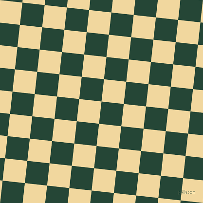 84/174 degree angle diagonal checkered chequered squares checker pattern checkers background, 46 pixel square size, , Bottle Green and Splash checkers chequered checkered squares seamless tileable