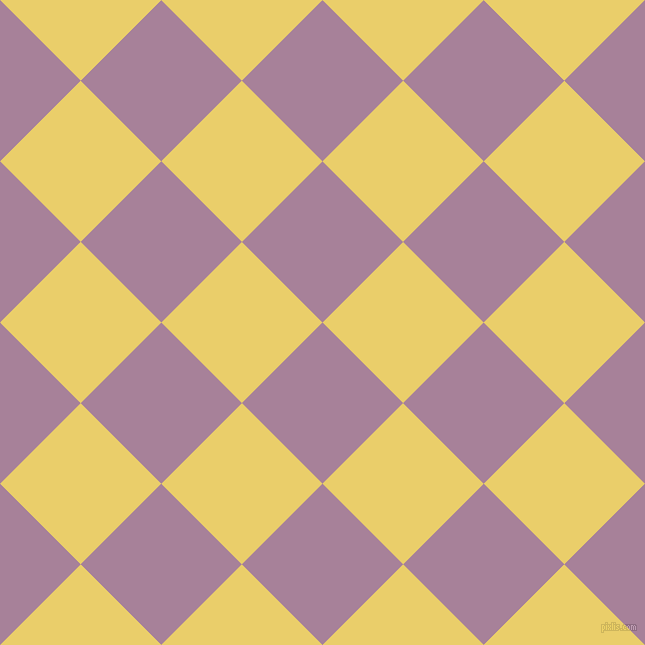 45/135 degree angle diagonal checkered chequered squares checker pattern checkers background, 114 pixel squares size, , Bouquet and Golden Sand checkers chequered checkered squares seamless tileable