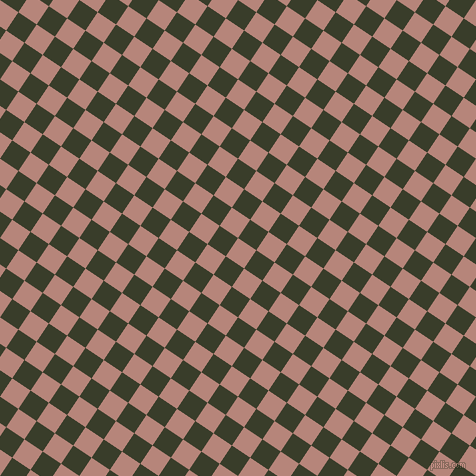 56/146 degree angle diagonal checkered chequered squares checker pattern checkers background, 22 pixel squares size, , Brandy Rose and Green Kelp checkers chequered checkered squares seamless tileable