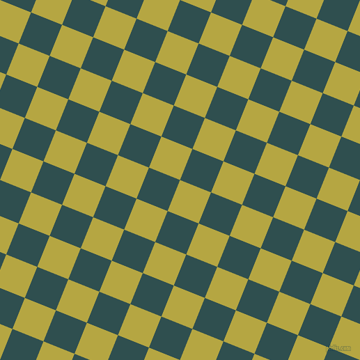 68/158 degree angle diagonal checkered chequered squares checker pattern checkers background, 48 pixel square size, , Brass and Dark Slate Grey checkers chequered checkered squares seamless tileable