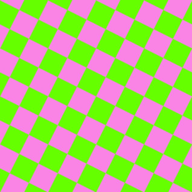63/153 degree angle diagonal checkered chequered squares checker pattern checkers background, 71 pixel squares size, , Bright Green and Pale Magenta checkers chequered checkered squares seamless tileable