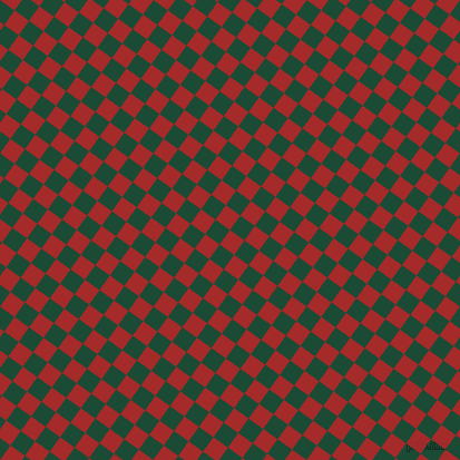 54/144 degree angle diagonal checkered chequered squares checker pattern checkers background, 16 pixel square size, , Brown and County Green checkers chequered checkered squares seamless tileable