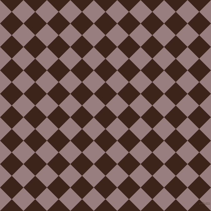 45/135 degree angle diagonal checkered chequered squares checker pattern checkers background, 53 pixel square size, , Brown Pod and Opium checkers chequered checkered squares seamless tileable