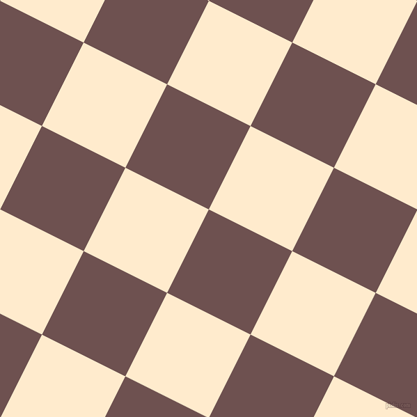 63/153 degree angle diagonal checkered chequered squares checker pattern checkers background, 134 pixel square size, , Buccaneer and Blanched Almond checkers chequered checkered squares seamless tileable