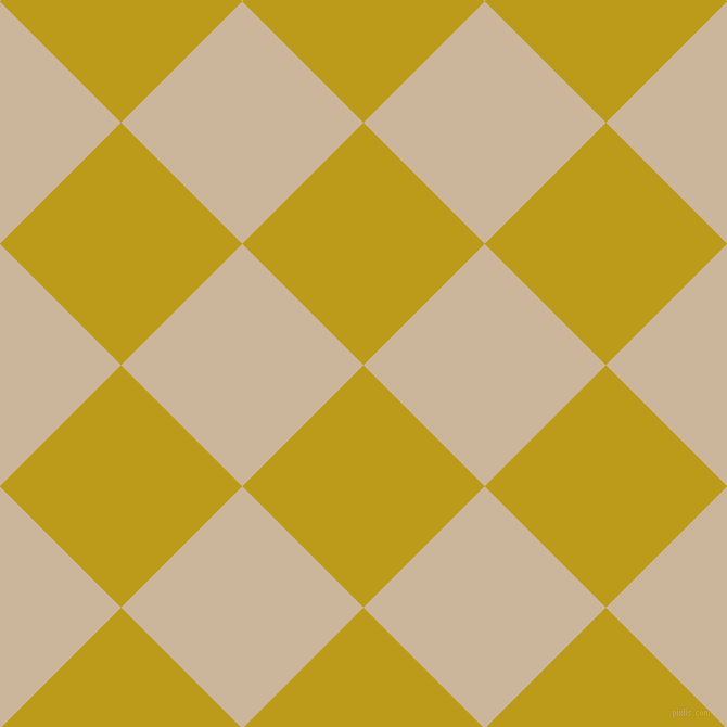 45/135 degree angle diagonal checkered chequered squares checker pattern checkers background, 158 pixel squares size, , Buddha Gold and Vanilla checkers chequered checkered squares seamless tileable