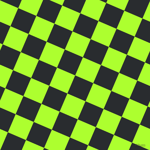 67/157 degree angle diagonal checkered chequered squares checker pattern checkers background, 67 pixel square size, , Bunker and Green Yellow checkers chequered checkered squares seamless tileable