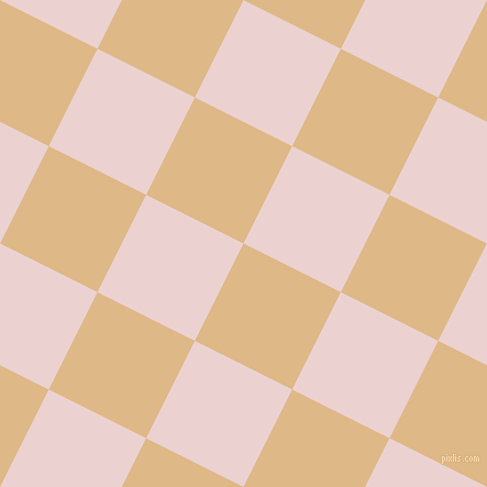 63/153 degree angle diagonal checkered chequered squares checker pattern checkers background, 99 pixel squares size, , Burly Wood and Vanilla Ice checkers chequered checkered squares seamless tileable