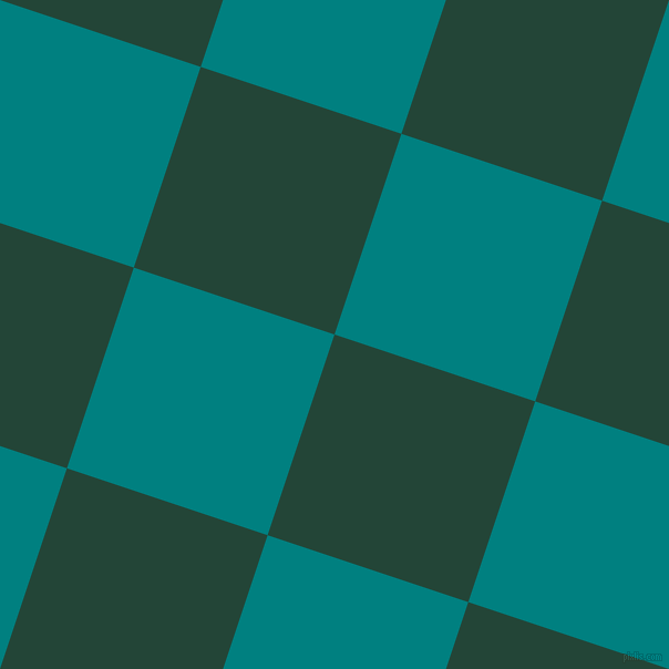 72/162 degree angle diagonal checkered chequered squares checker pattern checkers background, 191 pixel square size, , Burnham and Teal checkers chequered checkered squares seamless tileable