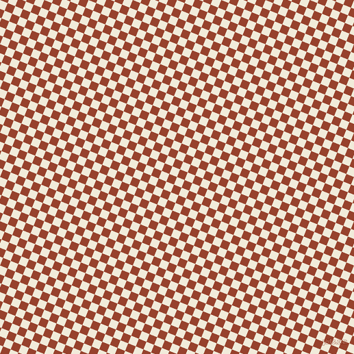 68/158 degree angle diagonal checkered chequered squares checker pattern checkers background, 12 pixel square size, , Buttery White and Tia Maria checkers chequered checkered squares seamless tileable