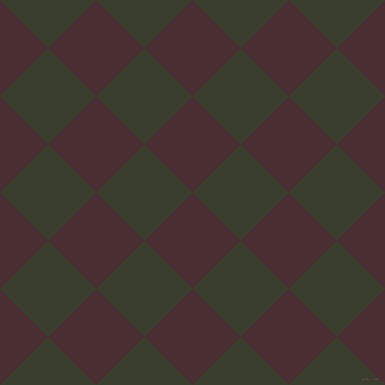 45/135 degree angle diagonal checkered chequered squares checker pattern checkers background, 137 pixel squares size, , Cab Sav and Log Cabin checkers chequered checkered squares seamless tileable