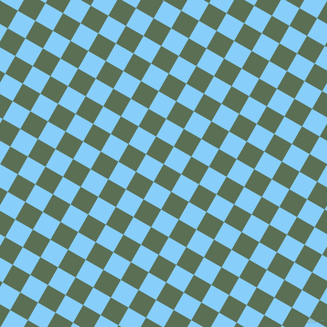 60/150 degree angle diagonal checkered chequered squares checker pattern checkers background, 41 pixel squares size, , Cactus and Light Sky Blue checkers chequered checkered squares seamless tileable