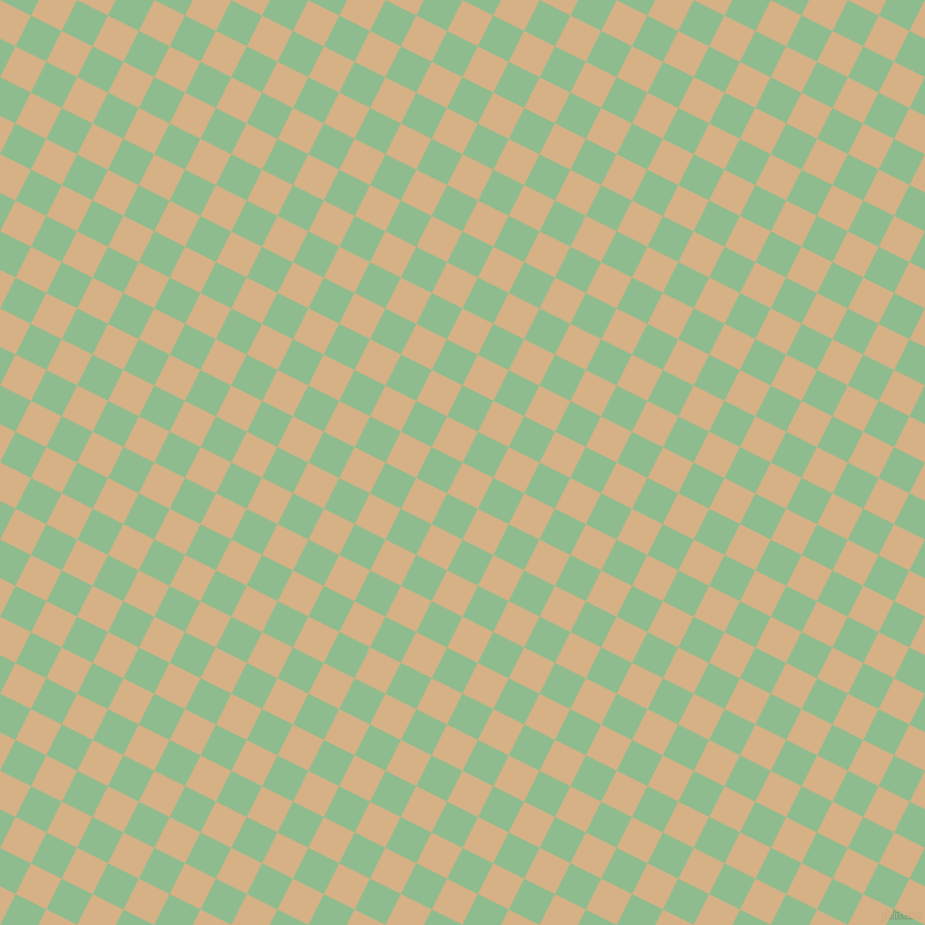 63/153 degree angle diagonal checkered chequered squares checker pattern checkers background, 31 pixel squares size, , Calico and Dark Sea Green checkers chequered checkered squares seamless tileable