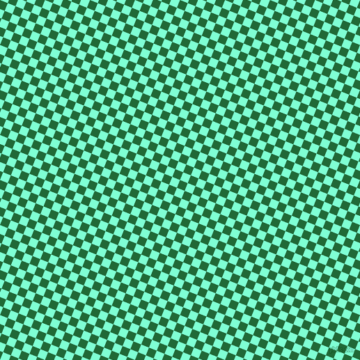 68/158 degree angle diagonal checkered chequered squares checker pattern checkers background, 12 pixel square size, , Camarone and Aquamarine checkers chequered checkered squares seamless tileable