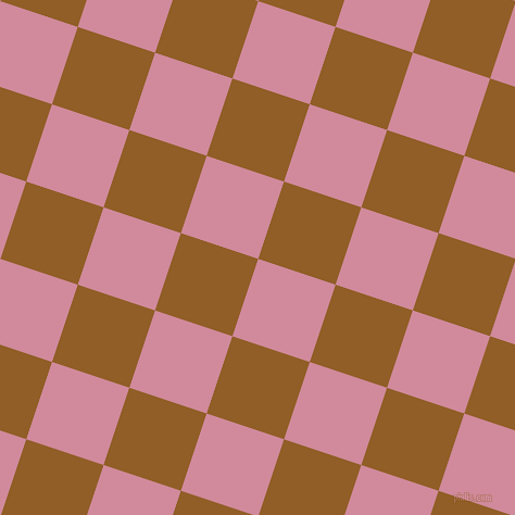 72/162 degree angle diagonal checkered chequered squares checker pattern checkers background, 75 pixel squares size, , Can Can and Afghan Tan checkers chequered checkered squares seamless tileable