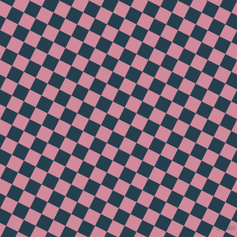 63/153 degree angle diagonal checkered chequered squares checker pattern checkers background, 26 pixel square size, , Can Can and Nile Blue checkers chequered checkered squares seamless tileable