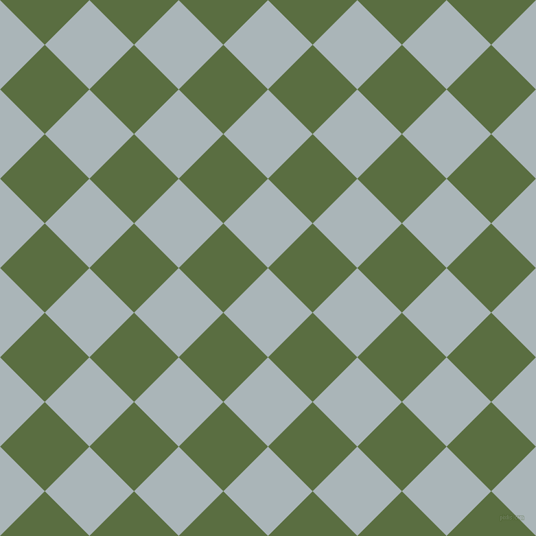 45/135 degree angle diagonal checkered chequered squares checker pattern checkers background, 92 pixel squares size, , Casper and Chalet Green checkers chequered checkered squares seamless tileable