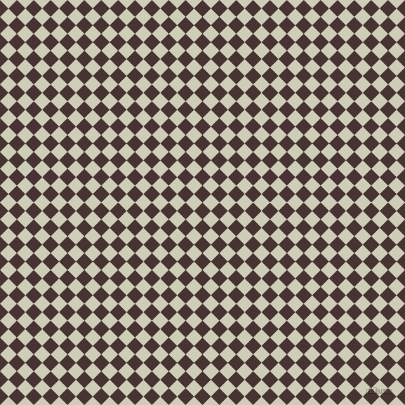 45/135 degree angle diagonal checkered chequered squares checker pattern checkers background, 17 pixel square size, , Cedar and Moon Mist checkers chequered checkered squares seamless tileable