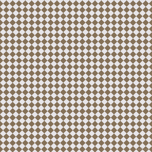 45/135 degree angle diagonal checkered chequered squares checker pattern checkers background, 15 pixel squares size, , Cement and White Lilac checkers chequered checkered squares seamless tileable