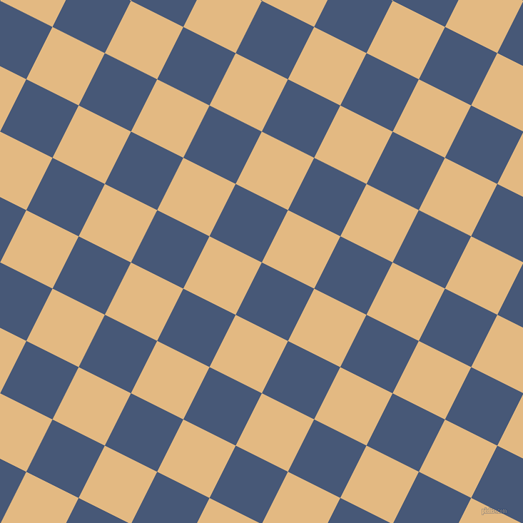 63/153 degree angle diagonal checkered chequered squares checker pattern checkers background, 82 pixel squares size, , Chambray and Maize checkers chequered checkered squares seamless tileable