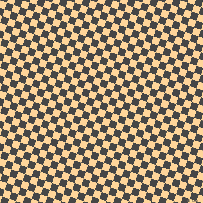 72/162 degree angle diagonal checkered chequered squares checker pattern checkers background, 24 pixel square size, , Charcoal and Caramel checkers chequered checkered squares seamless tileable