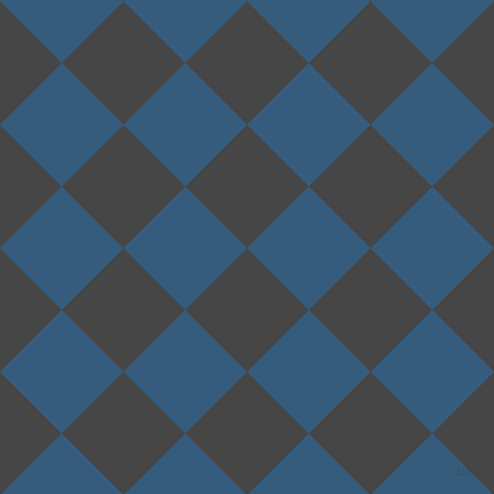 45/135 degree angle diagonal checkered chequered squares checker pattern checkers background, 96 pixel square size, , Charcoal and Matisse checkers chequered checkered squares seamless tileable