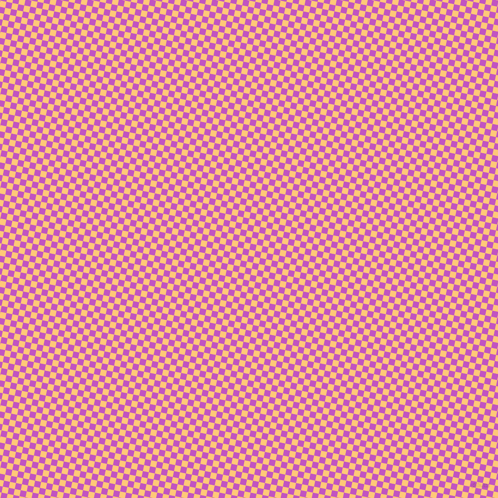 79/169 degree angle diagonal checkered chequered squares checker pattern checkers background, 12 pixel square size, , Chardonnay and Fuchsia checkers chequered checkered squares seamless tileable