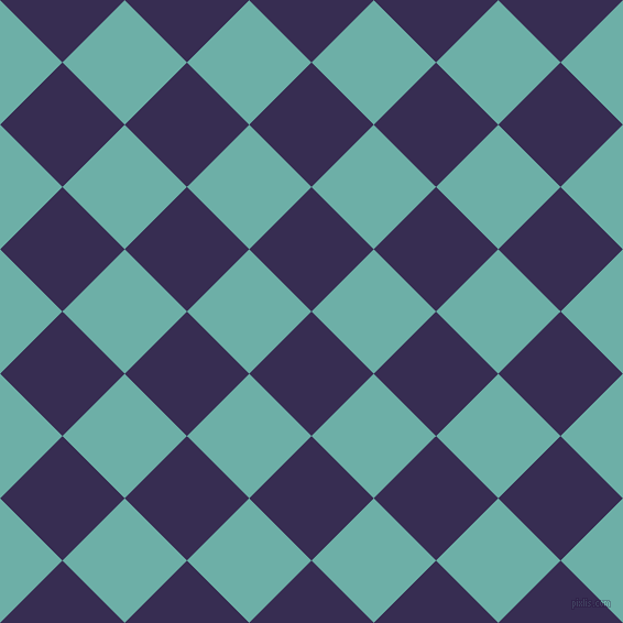 45/135 degree angle diagonal checkered chequered squares checker pattern checkers background, 80 pixel squares size, , Cherry Pie and Tradewind checkers chequered checkered squares seamless tileable