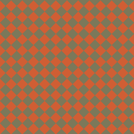 45/135 degree angle diagonal checkered chequered squares checker pattern checkers background, 27 pixel squares size, , Chilean Fire and Kokoda checkers chequered checkered squares seamless tileable