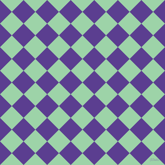 45/135 degree angle diagonal checkered chequered squares checker pattern checkers background, 63 pixel squares size, , Chinook and Daisy Bush checkers chequered checkered squares seamless tileable