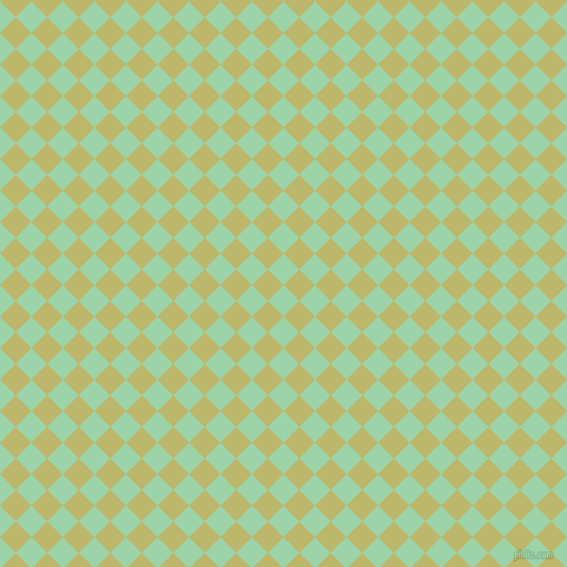 45/135 degree angle diagonal checkered chequered squares checker pattern checkers background, 20 pixel square size, , Chinook and Dark Khaki checkers chequered checkered squares seamless tileable