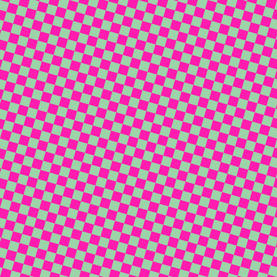 74/164 degree angle diagonal checkered chequered squares checker pattern checkers background, 33 pixel square size, , Chinook and Spicy Pink checkers chequered checkered squares seamless tileable