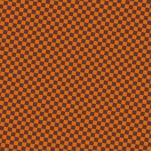 81/171 degree angle diagonal checkered chequered squares checker pattern checkers background, 14 pixel square size, , Chocolate and Hairy Heath checkers chequered checkered squares seamless tileable