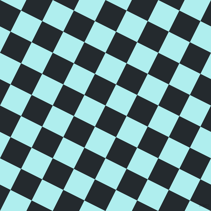 63/153 degree angle diagonal checkered chequered squares checker pattern checkers background, 90 pixel square size, , Cinder and Pale Turquoise checkers chequered checkered squares seamless tileable
