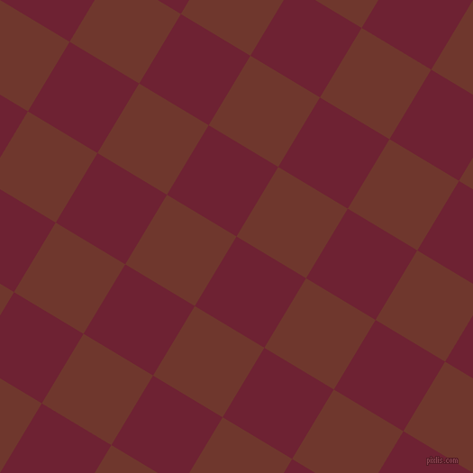 59/149 degree angle diagonal checkered chequered squares checker pattern checkers background, 90 pixel square size, , Claret and Mocha checkers chequered checkered squares seamless tileable