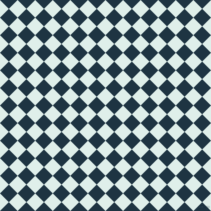 45/135 degree angle diagonal checkered chequered squares checker pattern checkers background, 42 pixel squares size, , Clear Day and Blue Whale checkers chequered checkered squares seamless tileable