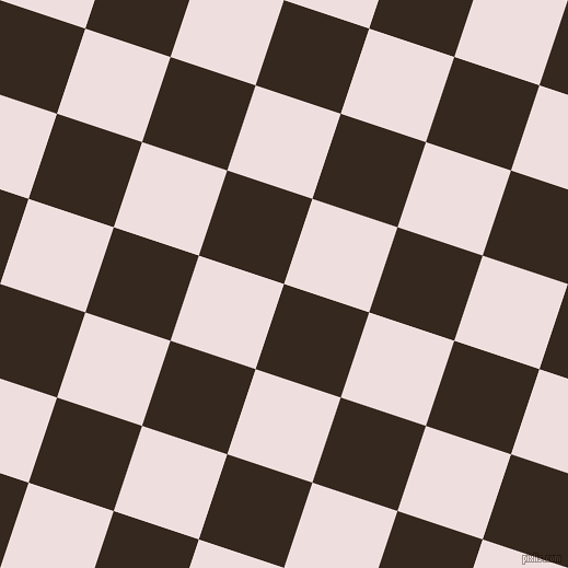72/162 degree angle diagonal checkered chequered squares checker pattern checkers background, 82 pixel squares size, , Cocoa Brown and Soft Peach checkers chequered checkered squares seamless tileable
