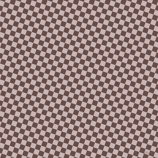 72/162 degree angle diagonal checkered chequered squares checker pattern checkers background, 21 pixel square size, , Cold Turkey and Congo Brown checkers chequered checkered squares seamless tileable