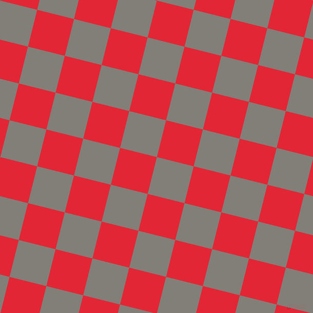 76/166 degree angle diagonal checkered chequered squares checker pattern checkers background, 74 pixel square size, , Concord and Alizarin checkers chequered checkered squares seamless tileable