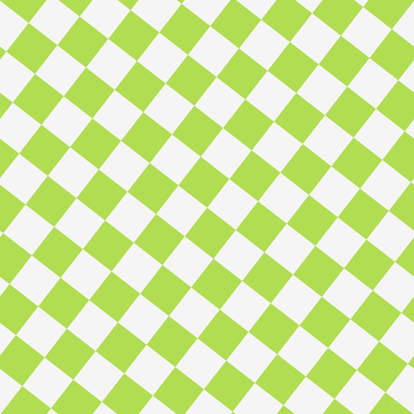 52/142 degree angle diagonal checkered chequered squares checker pattern checkers background, 73 pixel square size, , Conifer and White Smoke checkers chequered checkered squares seamless tileable