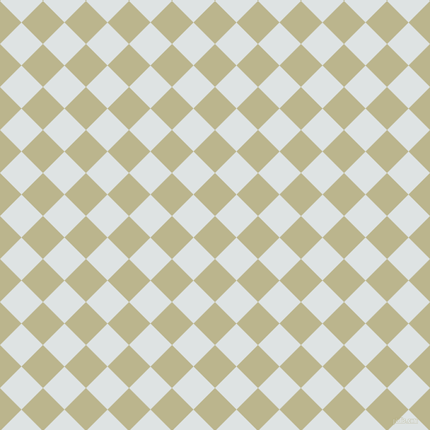 45/135 degree angle diagonal checkered chequered squares checker pattern checkers background, 43 pixel squares size, , Coriander and Zircon checkers chequered checkered squares seamless tileable